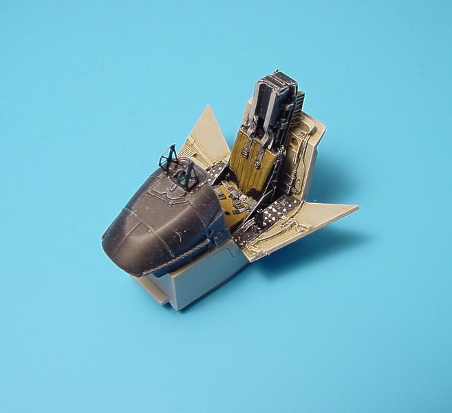1//48 RESIN KIT AIRES HOBBY MODELS 4213 AV-8B HARRIER II COCKPIT SET