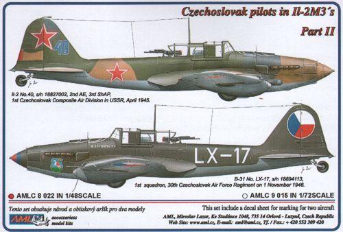AML Models Decals 1//48 ILYUSHIN IL-2 STURMOVIK Single Seat Attack Plane