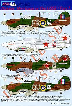 Ma série de HURRICANE Lend-Lease (URSS) 1/72 - On en est à 10!!  - Page 10 AMLD7209_1