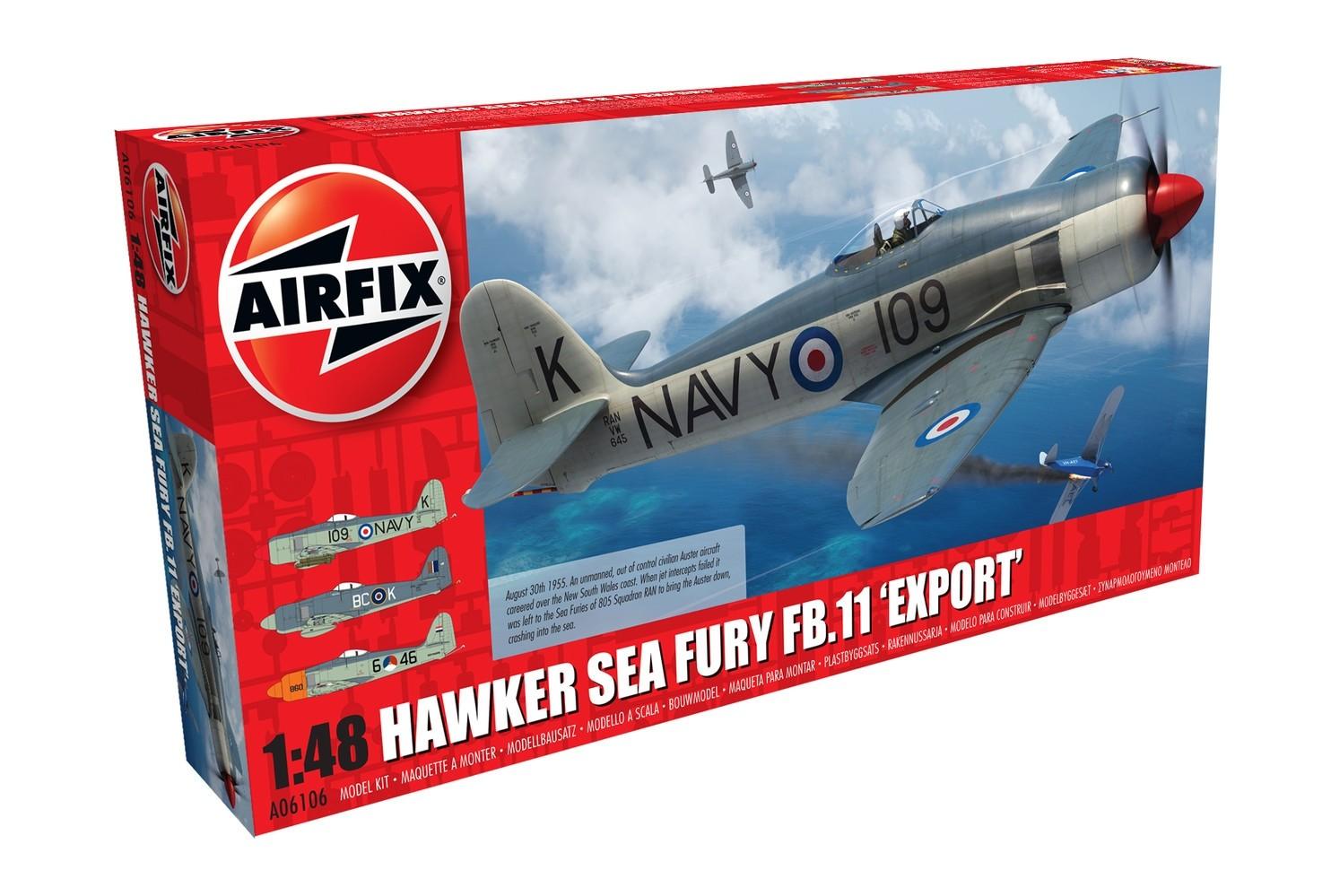 Aires 4771 Résine 1//48 Hawker Sea Fury FB.11 Contrôle surfaces Airfix