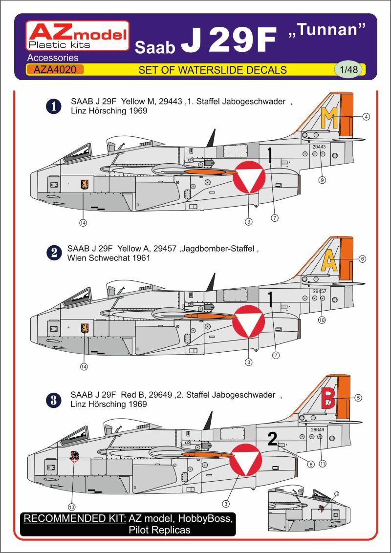 HOBBYBOSS HB81745 1:48 J-29F TUNNAN*