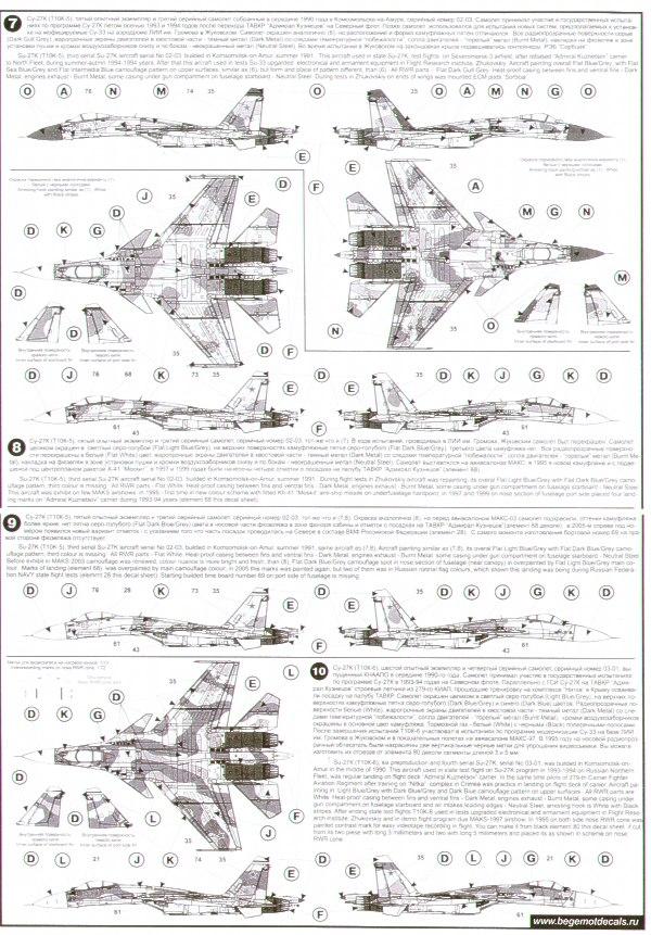 Begemot 1//72 Sukhoi Su-33 # 7228