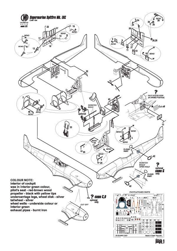Czech Master Resin Aircraft Kits