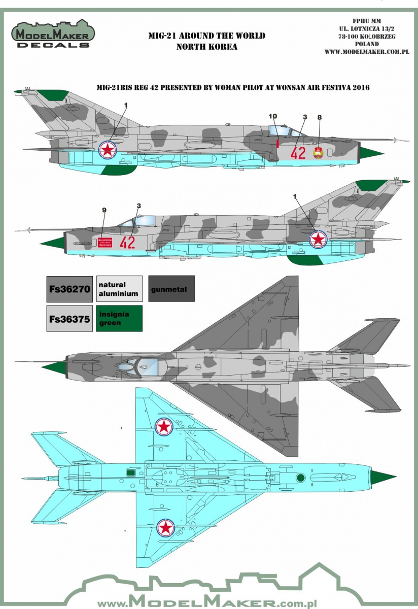 USSR MARK1 1//144 Cold War Fighter Mikoyan MiG-19S Farmer C /'Warsaw Pact/'