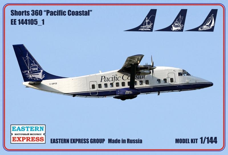 Eastern Express 1//144 Short SC-7 Skyvan British Set Model Kit