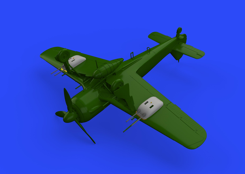 Eduard Brassin 632125 1//32 Focke-Wulf Fw-190A-8 wheels Revell