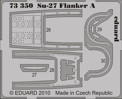 Eduard 1//72 Sukhoi Su-27B Flanker PRE-PAINTED IN COLOUR # 73251