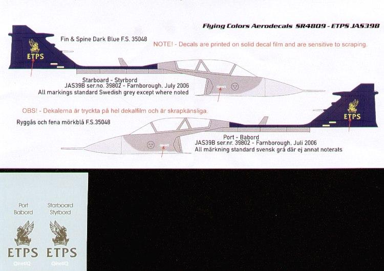 1//72 modern Sweden pilots PJ Production resin Draken Viggen Gripen