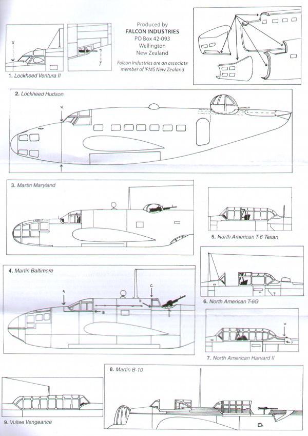 Falcon Aircraft canopies - FNCV3072 | Hannants