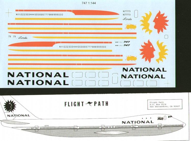 Flightpath USA Aircraft decals - FPA44041 | Hannants