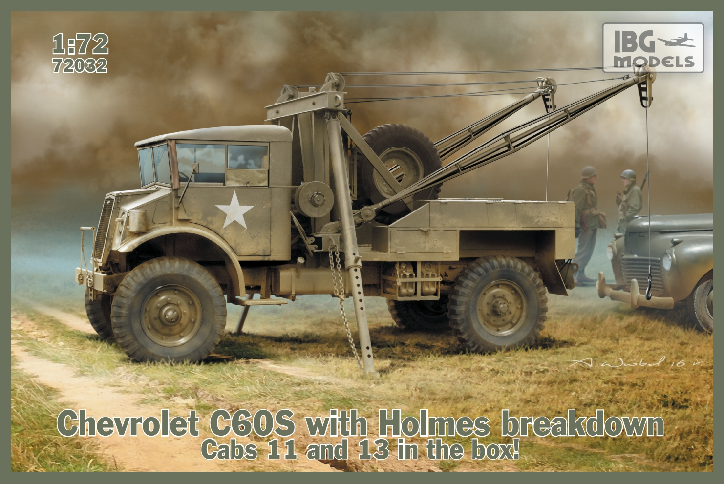 CAMION-CITERNE ASPHALTE  DIAMOND T 968A KIT IBG Models 1//72 n° 72022 US ARMY