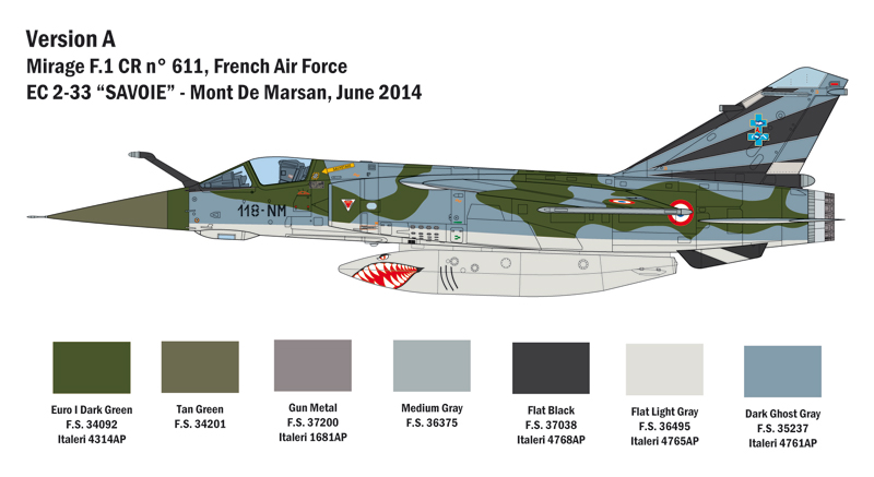 Italeri Aircraft kits - IT2790 | Hannants