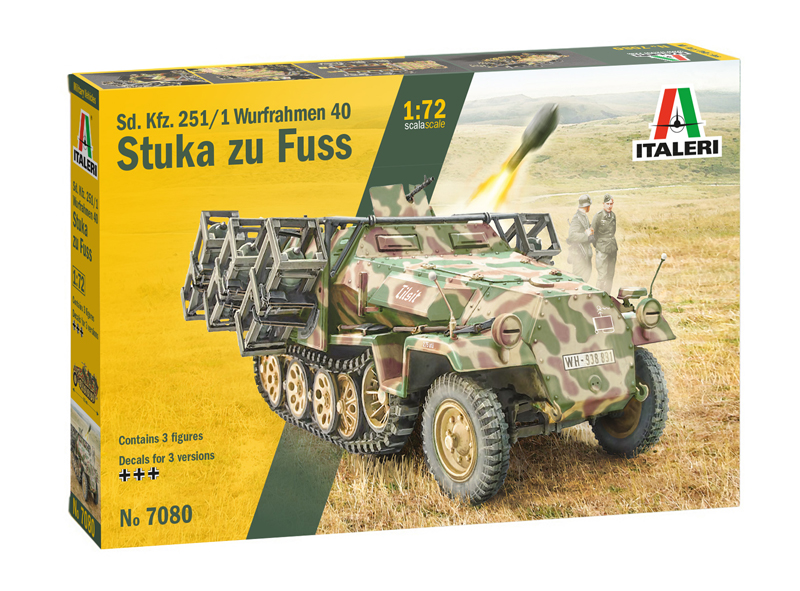 World War 2 1//72 scale German SdKfz 232 6-Rad command armored car 3D printed
