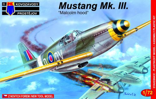 Peewit 1//72 North-American P-51B//P-51C//Mk.III Mustang Original Canopy # PEE72028