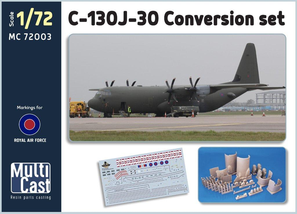 Brengun Models 1//72 LOCKHEED KC-130J HARVEST HAWK Resin Conversion Kit