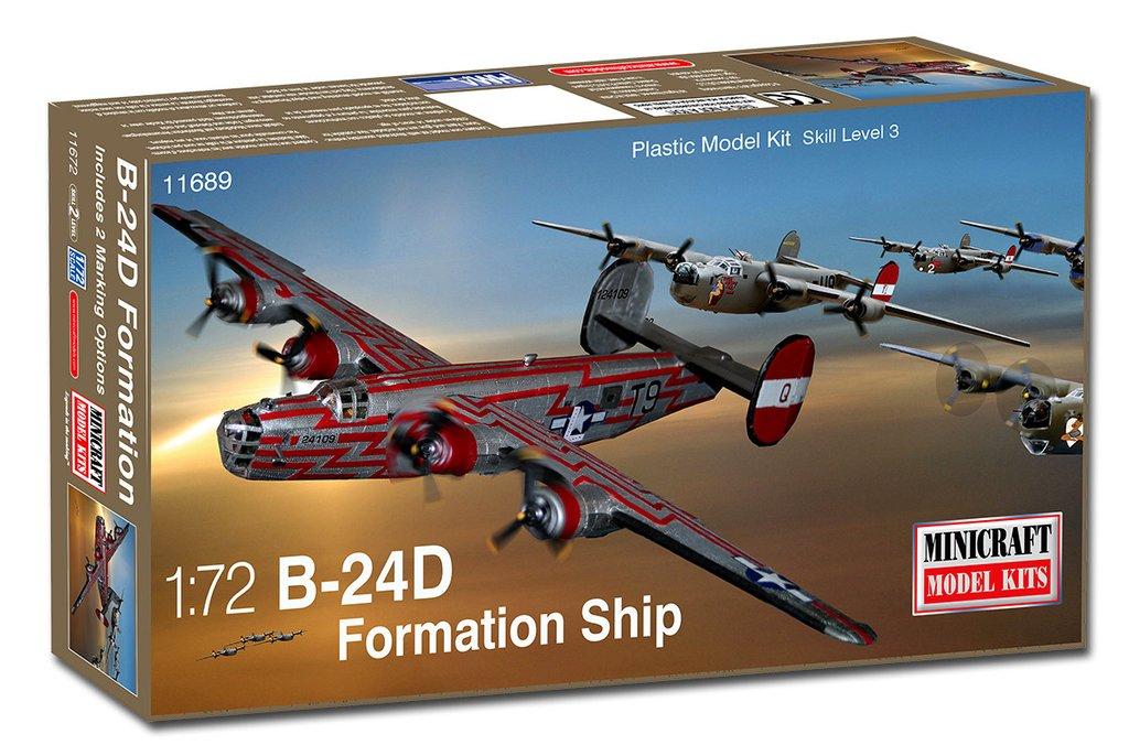 MIC11692 MINICRAFT 1//72 B-24J Liberator 8th AF