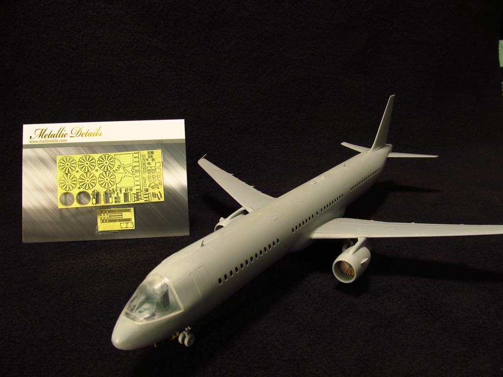 Metallic Details 1//144 Airbus A350 Details Photo Etch Set