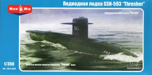 NEW !!! 1:350 Mikro Mir #350-025 British M-class Submarine  NEU