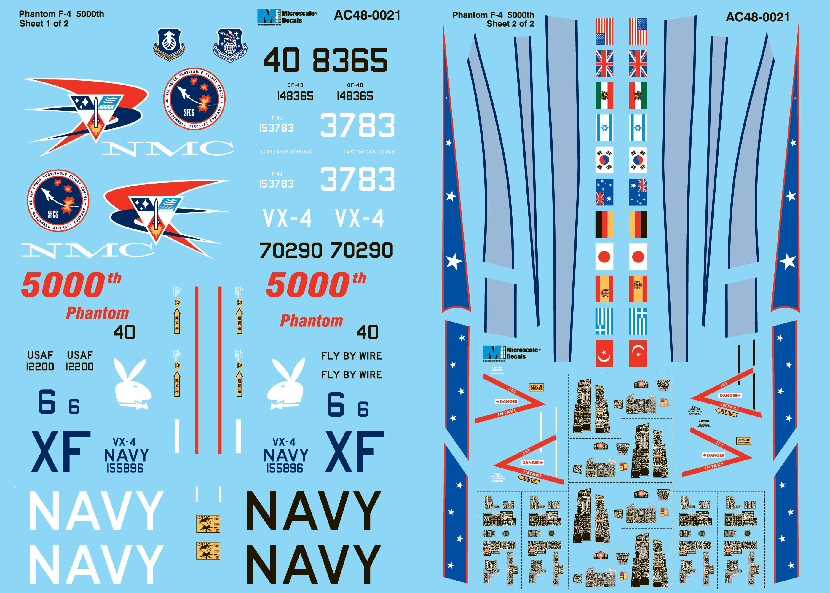 """20/"""" 18/"""" Microscale Decals 1//72 USAF Assorted Stencil Insignia 15/"""" 25/"""" and 30/"""""""
