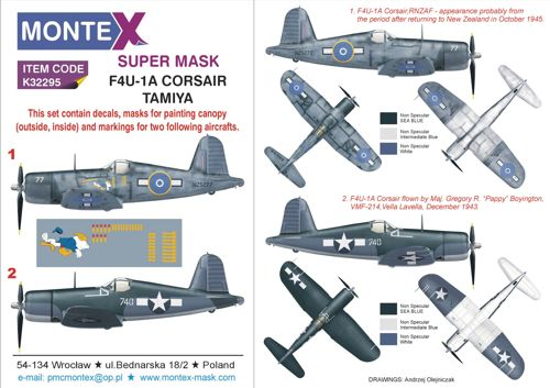 Vought F4U-1A Corsair  1:32 TA60325 tamiya modellismo