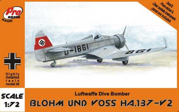 Brengun Models 1//72 BLOHM und VOSS Bv-40 Paint Mask Set