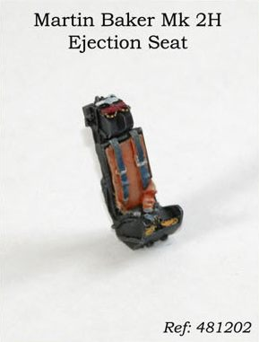PJ Productions 1//72 Martin Baker Mk 2H Ejection Seat # 721204