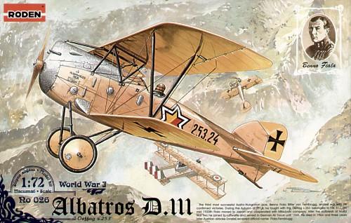 III OEFFAG s.153/ Later Version Roden 030/Model Kit Albatros D