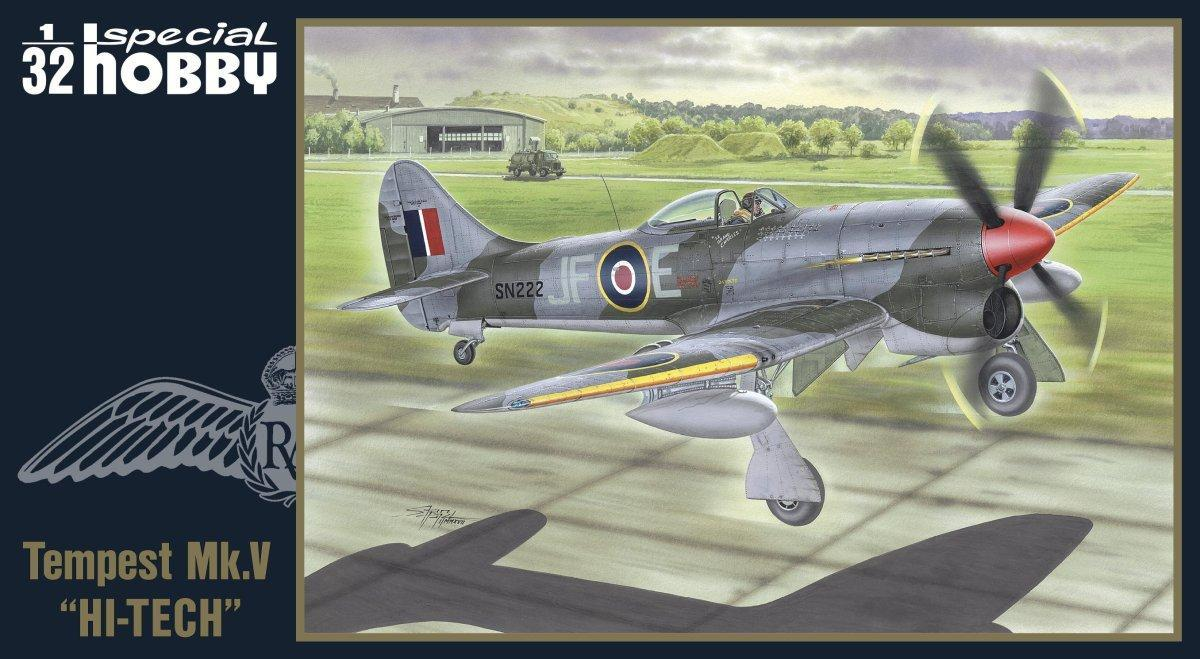 Special Hobby 100-SH32075-1:32 British WWII Rockets