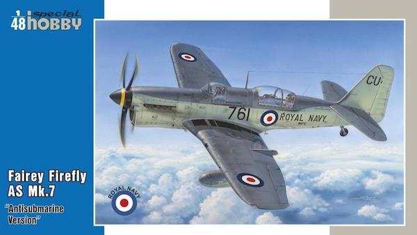"Special Hobby 100-SH48136 Fairey Firefly Mk.4//5 /""Korean War/"" in 1:48"