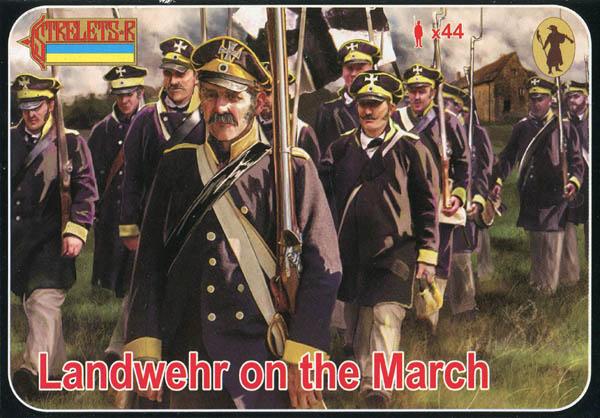 Strelets 1//72 141 Napoleonic Wars British Infantry March Figur kit w//Box 113000