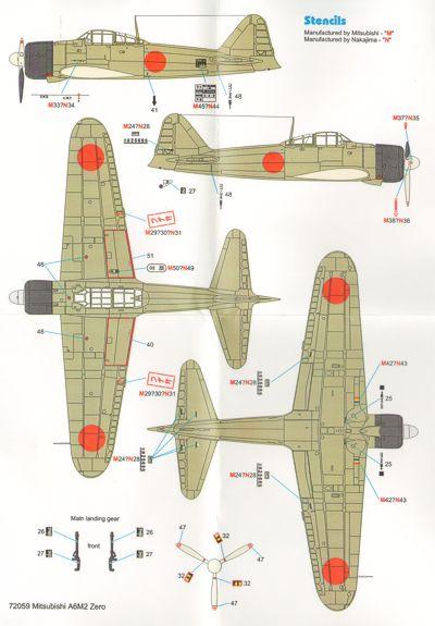 Techmod Aircraft decals - TM72059 | Hannants