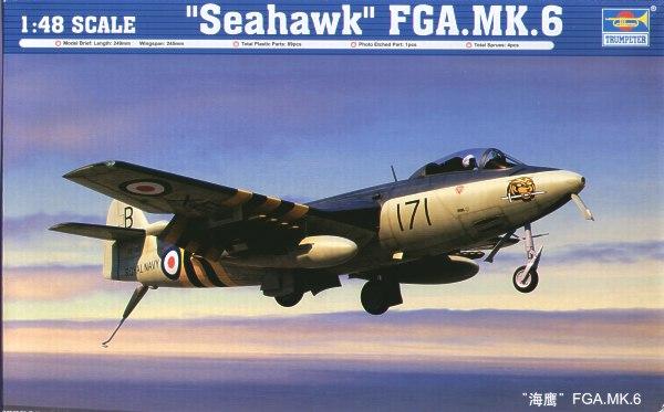 Trumpeter 02826 Modellbausatz Seahawk FGA.MK.6