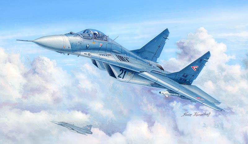EDUARD JX217 Masking Sheet for Trumpeter® Kit MiG-29UB in 1:32