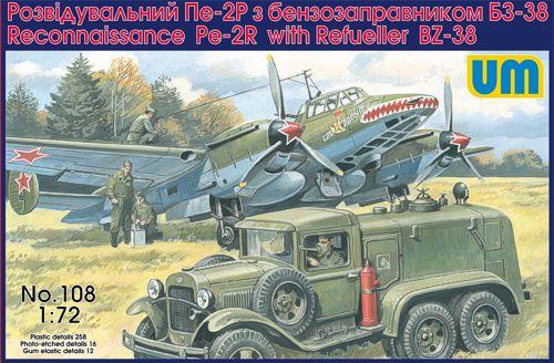 Petlyakov Pe-2 (1/72 - Hobby Boss) UNIM108
