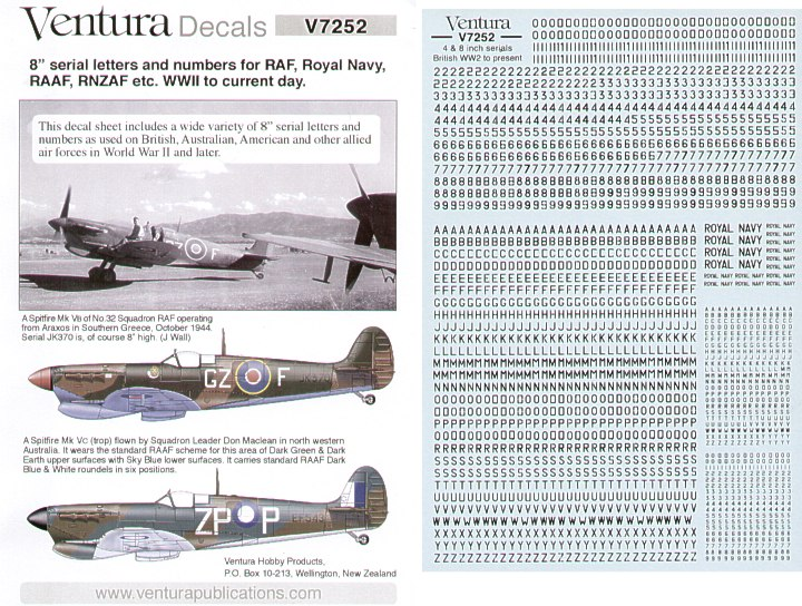 Spitfire Mk Niners of the World IXc // Mk IXe 1//144 jbr44003// JBr Decals